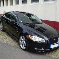 Jaguar XF Noire